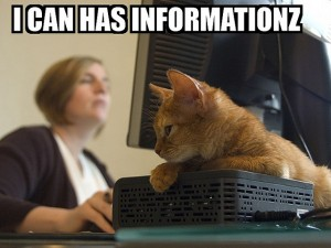 I Can Haz Informationz, some rights reserved by Flickr user sillygwailo