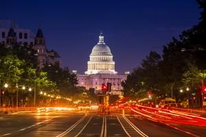 Capitol at Night. Photo Credit: Cameron Whitman
