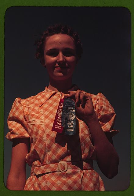 Winner at the Delta County Fair, Colorado, Farm Security Administration/Office of War Information Color Photographs, //hdl.loc.gov/loc.pnp/fsac.1a34201
