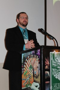 Austin Schulz at the 2014 Oregon Heritage Excellence Awards