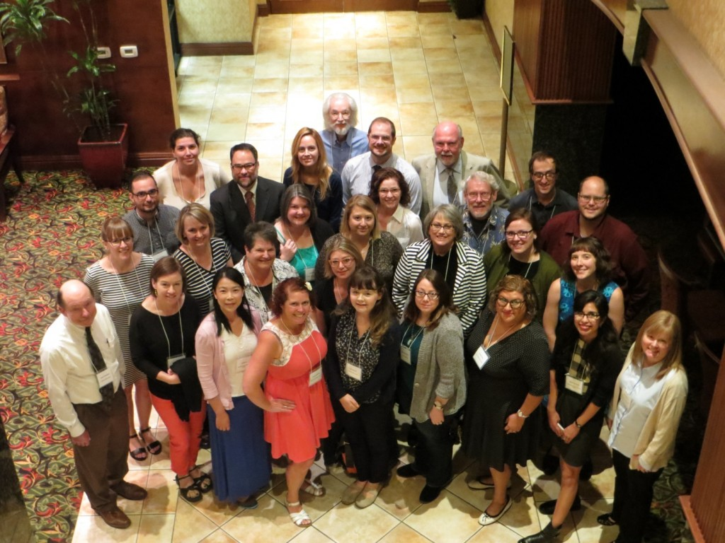 Trainers and trainees at the DPOE workshop in Sacramento.