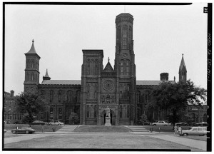 Smithsonian Institution Building, 1000 Jefferson Drive, between Ninth & Twelfth Streets, Southwest, Washington, District of Columbia, DC.  1968.  Library of Congress. //hdl.loc.gov/loc.pnp/hhh.dc0231/photos.029518p
