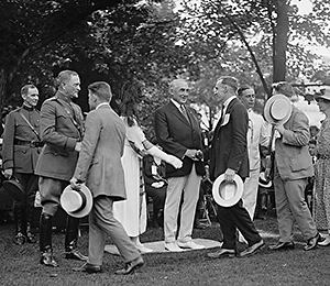 Reception to disabled veterans. June 7, 1922. 1 negative : glass ; 4 x 5 in. or smaller. LC call number LC-F8- 18996.