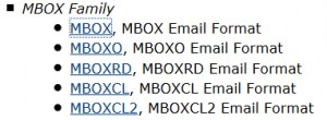 email-MBOX