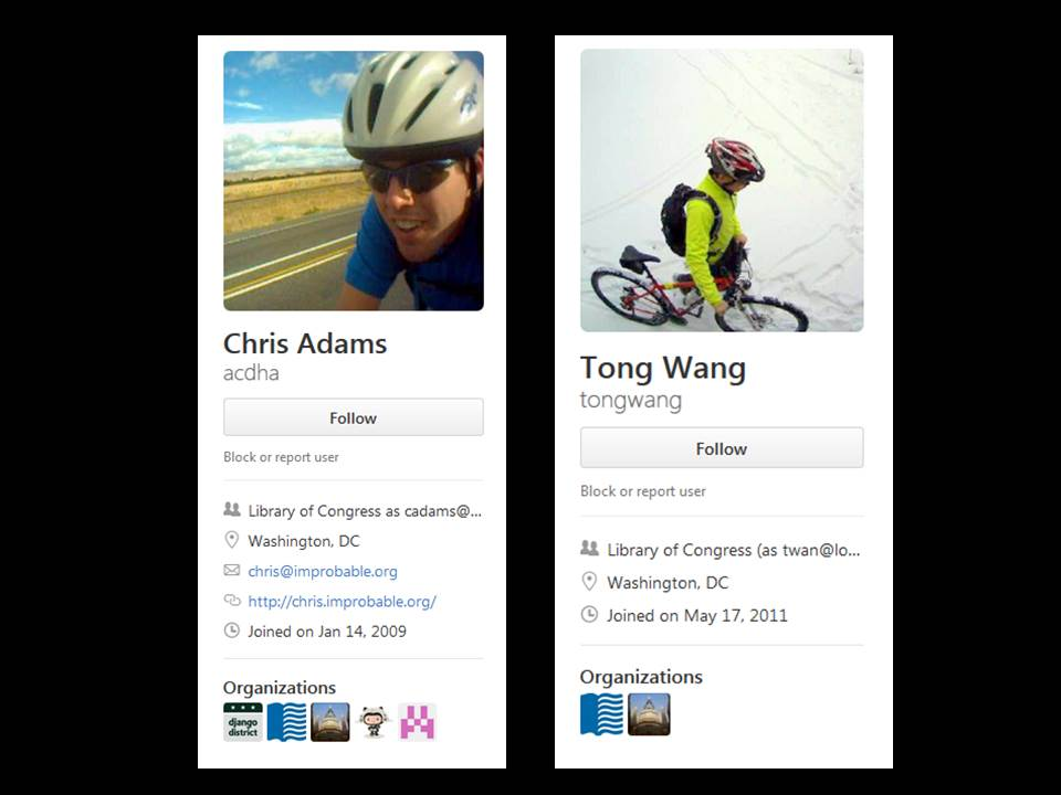 Photos and description from the Github accounts of Chris Adams and Tong Wang