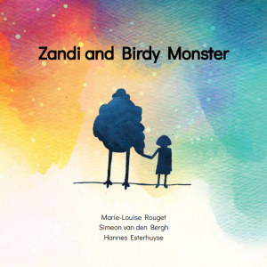 A cover image of the book Zandi and Birdy Monster (Library of Congress item 2018296486).
